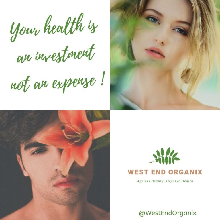 Your health is an investment not an expense