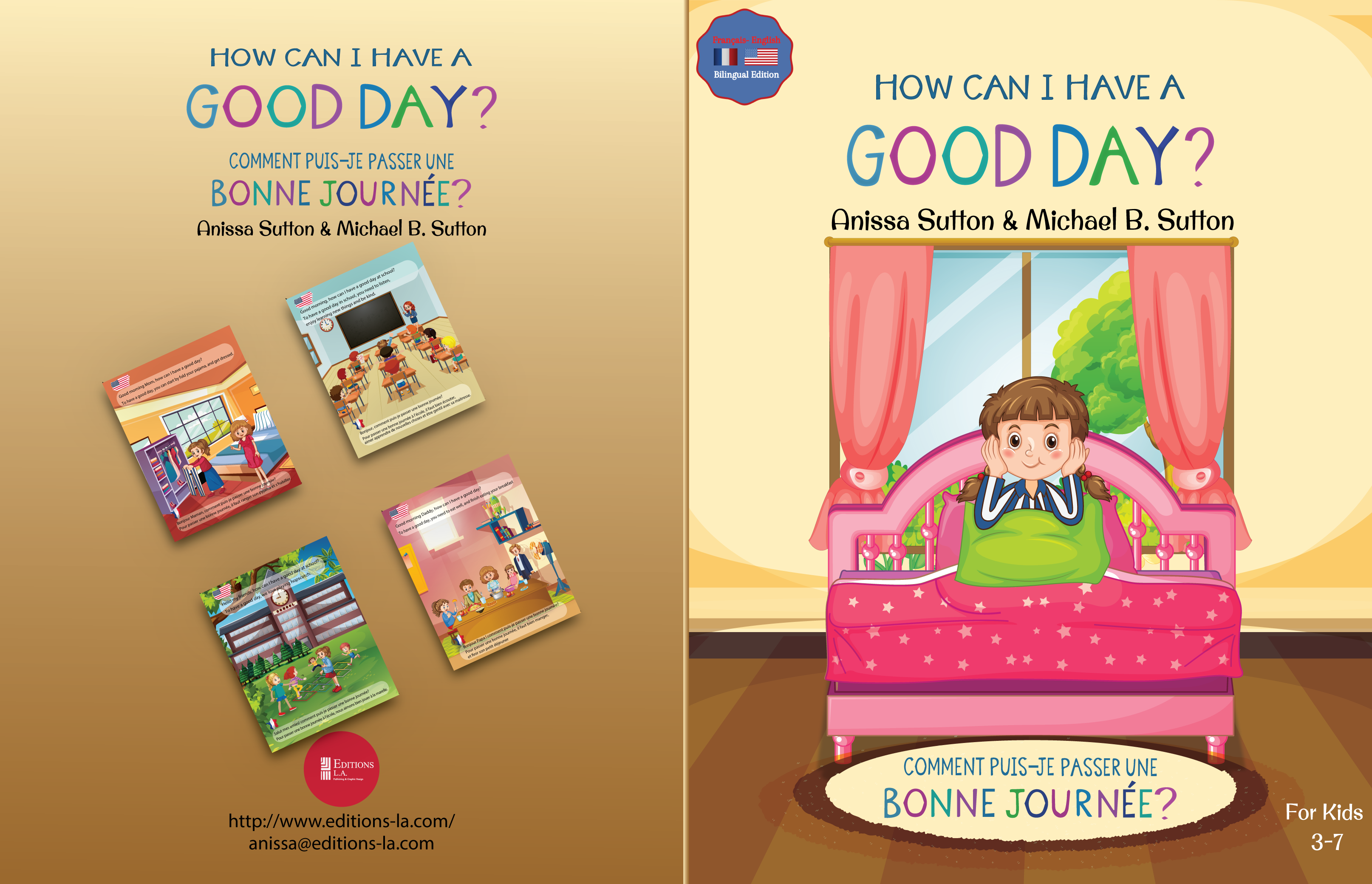 Children Books: How Can I Have A Good Day? English French Bilingual Book for Children